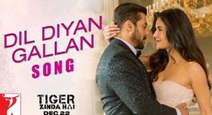 Dil Diyan Gallan Lyrics – Atif Aslam