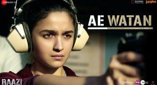 Ae Watan Lyrics – Arijit Singh