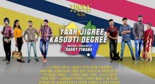 Sharry Mann's New Song Yaar Jigree Kasooti Degree