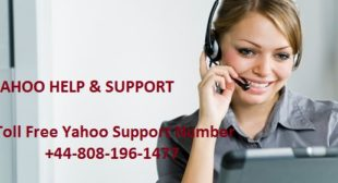 Toll-Free Yahoo Support Number – email support desk