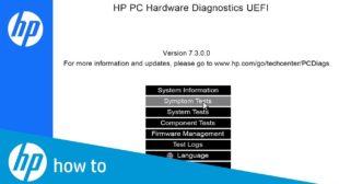 How to Use HP PC Hardware Diagnostics (UEFI)