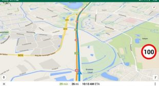 How to Show Speed Limits on Google Maps