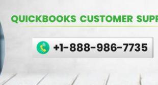 QuickBooks Customer Support Phone Number +1-888-986-7735